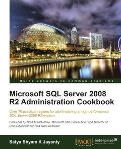 Microsoft SQL Server 2008 R2 Administration Cookbook (Paperback)-cover