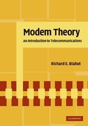 Modem Theory: An Introduction to Telecommunications (Hardcover)-cover