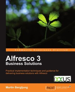 Alfresco 3 Business Solutions (Paperback)-cover