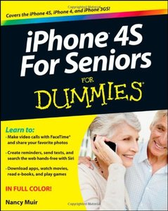 iPhone 4S For Seniors For Dummies (Paperback)-cover