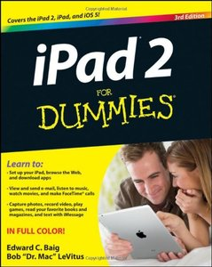 iPad 2 For Dummies, 3/e (Paperback)-cover