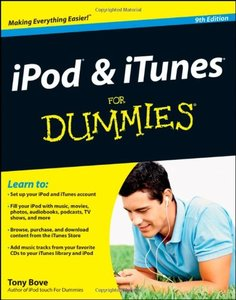 iPod & iTunes For Dummies, 9/e (Paperback)-cover