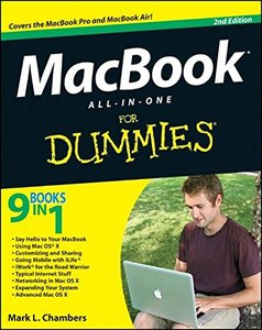 MacBook All-in-One For Dummies, 2/e (Paperback)-cover