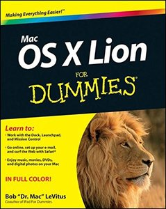 Mac OS X Lion For Dummies (Paperback)-cover