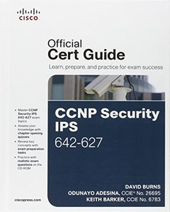 CCNP Security IPS 642-627 Official Cert Guide (Hardcover)-cover