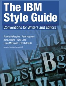 The IBM Style Guide: Conventions for Writers and Editors (Paperback)-cover
