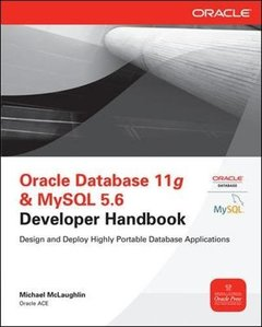 Oracle Database 11g & MySQL 5.6 Developer Handbook (Paperback)-cover