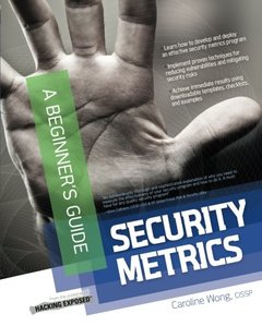 Security Metrics, A Beginners Guide (Paperback)-cover