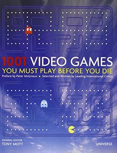 1001 Video Games You Must Play Before You Die (Hardcover)-cover