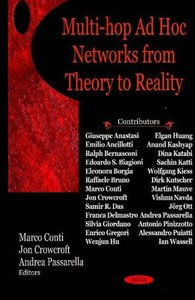 Multi-Hop Ad Hoc Networks from Theory to Reality (Hardcover)-cover