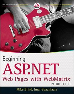 Beginning ASP.NET Web Pages with WebMatrix (Paperback)-cover