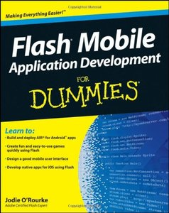 Flash Mobile Application Development For Dummies (Paperback)-cover
