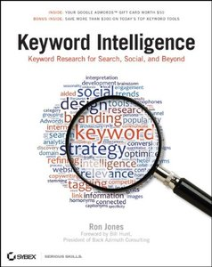 Keyword Intelligence: Keyword Research for Search, Social, and Beyond (Paperback)-cover