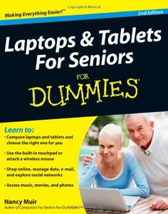 Laptops and Tablets For Seniors For Dummies, 2/e (Paperback)-cover