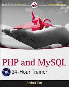 PHP and MySQL 24-Hour Trainer (Paperback)-cover