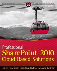Professional SharePoint 2010 Cloud-Based Solutions (Paperback)-cover