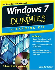Windows 7 eLearning Kit For Dummies (Paperback)-cover