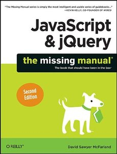 JavaScript & jQuery: The Missing Manual, 2/e (Paperback)-cover