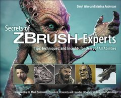 Secrets of Zbrush Experts: Tips, Techniques, and Insights for Users of All Abilities (Paperback)-cover