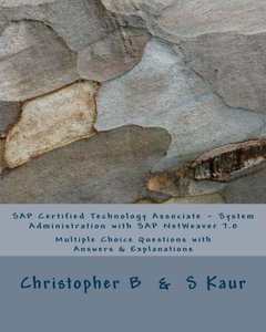 SAP Certified Technology Associate - System Administration with SAP NetWeaver 7.0 (Paperback)-cover
