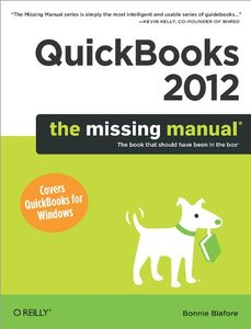 QuickBooks 2012: The Missing Manual (Paperback)-cover