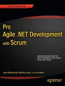 Pro Agile .NET Development with SCRUM (Paperback)-cover