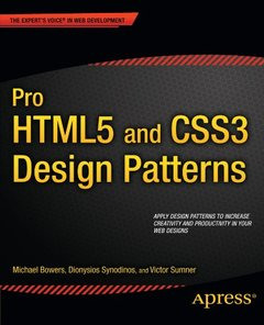 Pro HTML5 and CSS3 Design Patterns (Paperback)-cover