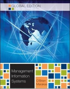 Management Information Systems, 10/e (IE-Paperback)-cover