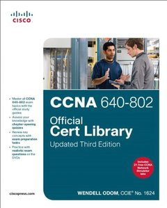 CCNA 640-802 Official Cert Library, Updated, 3/e (Hardcover)-cover