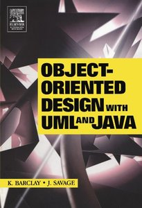 Object-Oriented Design with UML and Java (Paperback)-cover