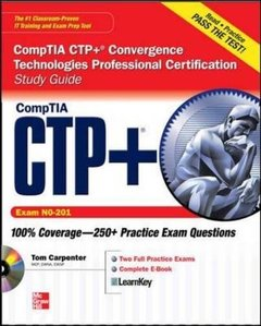 CompTIA CTP+ Convergence Technologies Professional Certification Study Guide (Exam CN0-201) (Paperback)-cover