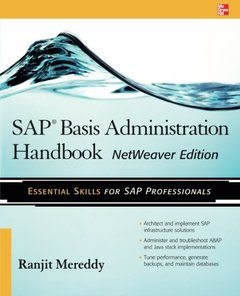 SAP Basis Administration Handbook, NetWeaver Edition (Paperback)-cover