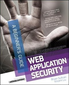 Web Application Security, A Beginner's Guide (Paperback)-cover