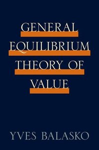 General Equilibrium Theory of Value (Hardcover)-cover