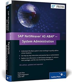 SAP NetWeaver AS ABAP System Administration, 4/e (Hardcover)-cover
