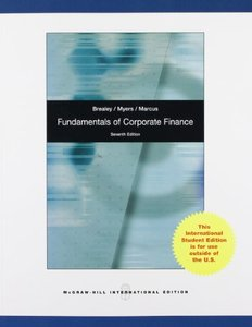 Fundamentals of Corporate Finance (IE-Paperback)