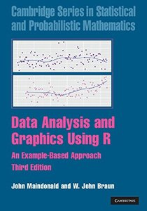 Data Analysis and Graphics Using R: An Example-Based Approach, 3/e (Hardcover)-cover