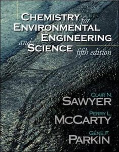 Chemistry for Environmental Engineering and Science, 5/e (Hardcover)-cover