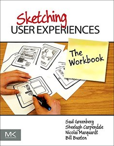 Sketching User Experiences: The Workbook (Paperback)-cover