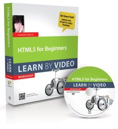 HTML5 for Beginners: Learn by Video (DVD-ROM)-cover
