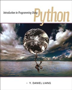Introduction to Programming Using Python (Paperback)美國原版-cover