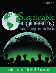 Sustainable Engineering: Concepts, Design and Case Studies (Paperback)-cover