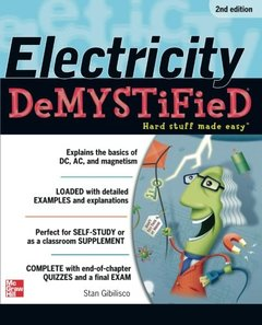 Electricity Demystified, 2/e (Paperback)-cover