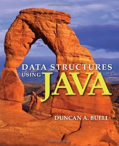 Data Structures Using Java (Paperback)-cover