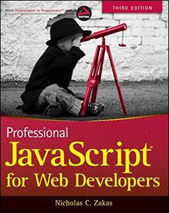 Professional JavaScript for Web Developers, 3/e (Paperback)-cover