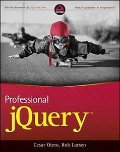 Professional jQuery (Paperback)-cover