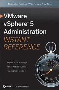 VMware vSphere 5 Administration Instant Reference, 2/e (Paperback)-cover