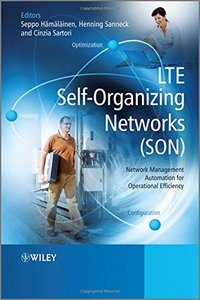 LTE Self-Organising Networks (SON): Network Management Automation for Operational Efficiency (Hardcover)-cover