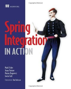 Spring Integration in Action (Paperback)-cover