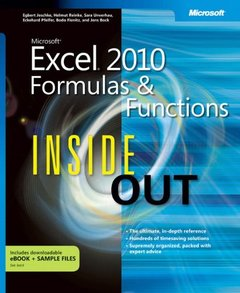 Microsoft Excel 2010 Formulas and Functions Inside Out (Paperback)-cover